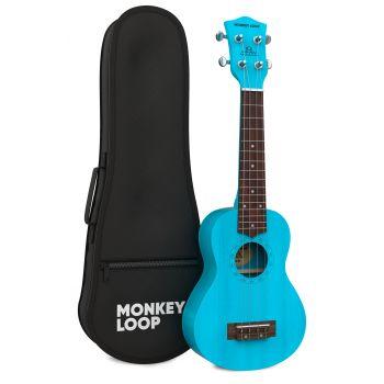 Monkey Loop Stone Blue Ukelele Soprano
