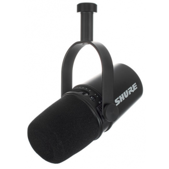 SHURE MV7-K Micrófono vocal XLR/USB Negro
