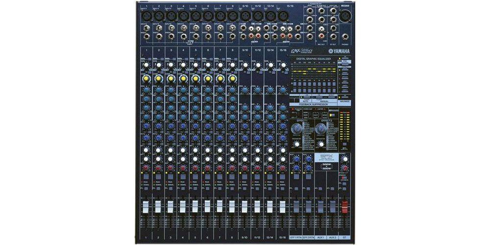 YAMAHA EMX-5016CF Mezclador Autoamplificado 2x500w EMX5016CF 16Ch