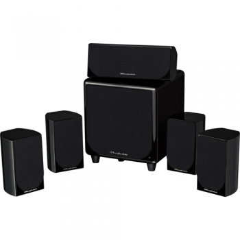 WHARFEDALE DX-1 HCP Conjunto 5.1 Home Cinema Negro Hight Glossy