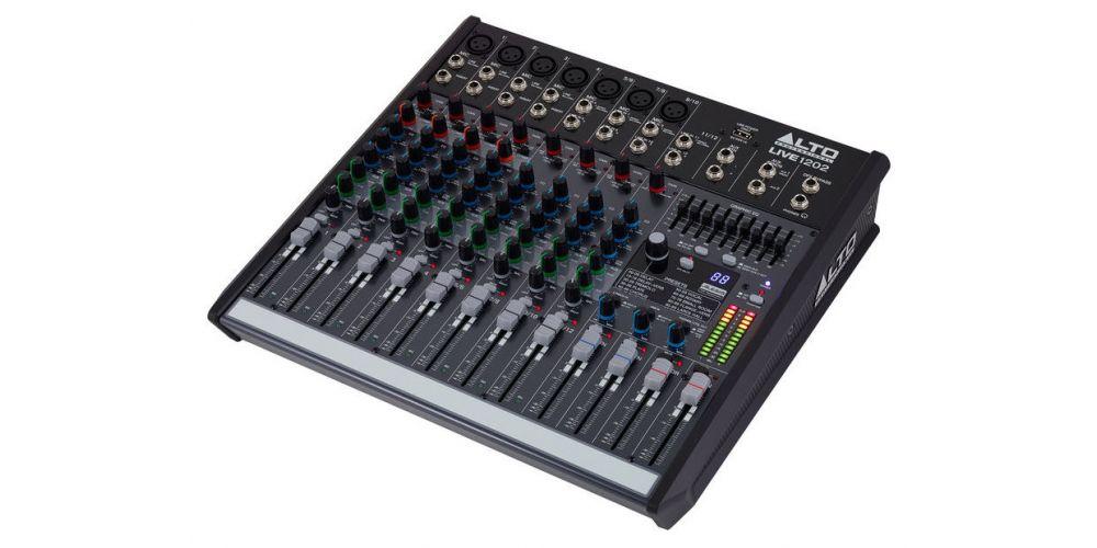 ALTO PROFESIONAL LIVE-1202 mezclador para directo 12 canales USB
