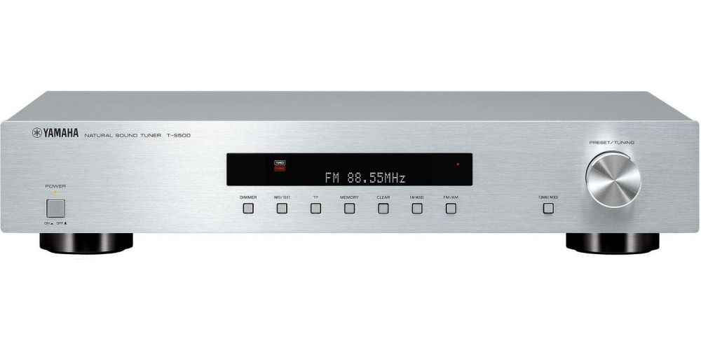 yamaha ts500 silver sintonizador digital