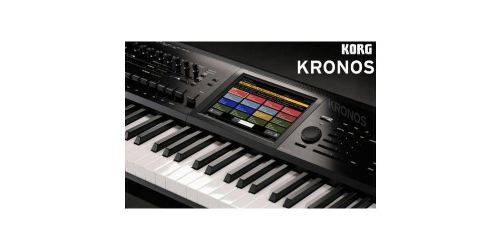 korg kross61 version 2015 detalle pantalla