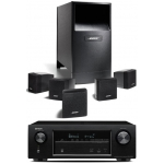 DENON AVR-X1200-AM6 Bk Conjunto Home Cinema