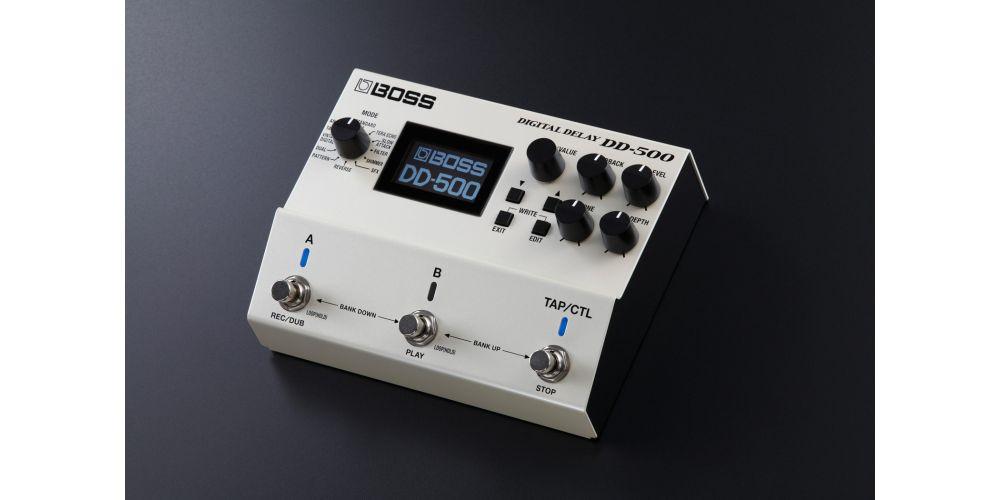 boss dd 500 pedal