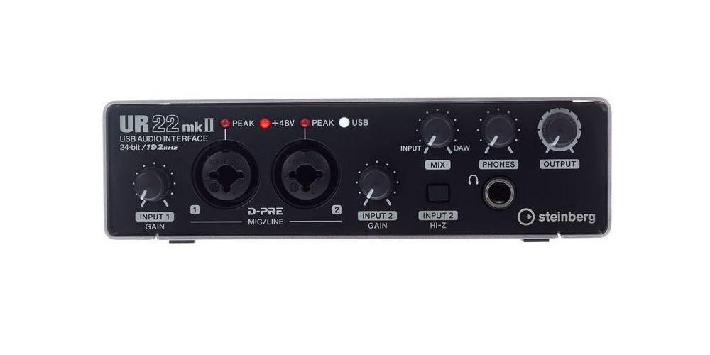 Steinberg UR22 MK2 USB Interface de Audio MIDI