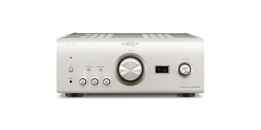 denon pma2500ne amplificador premiun silver