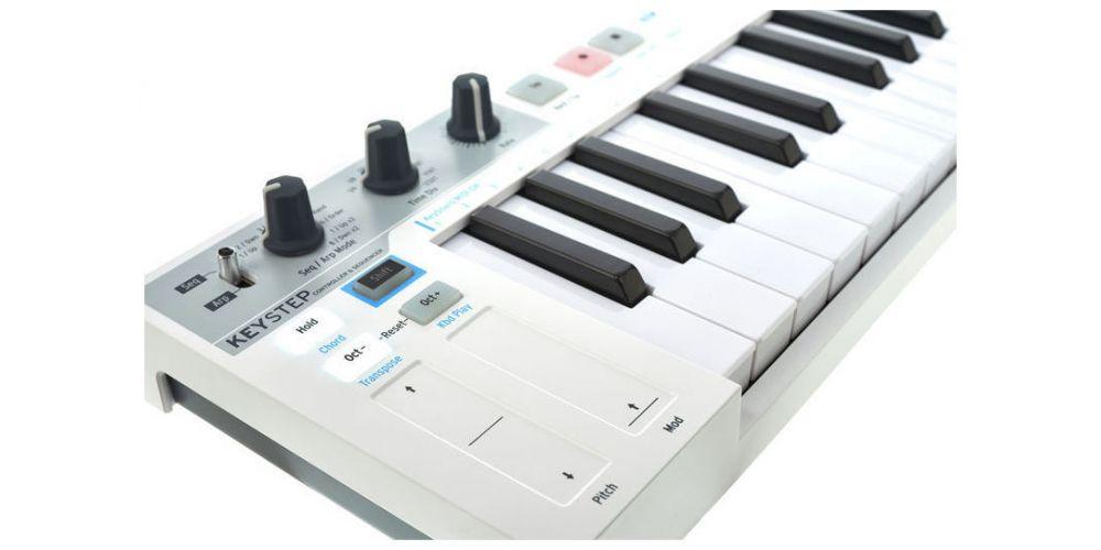 ARTURIA Keystep Superficie de control con pads