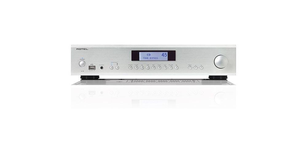 rotel a12 silver amplificador 60w