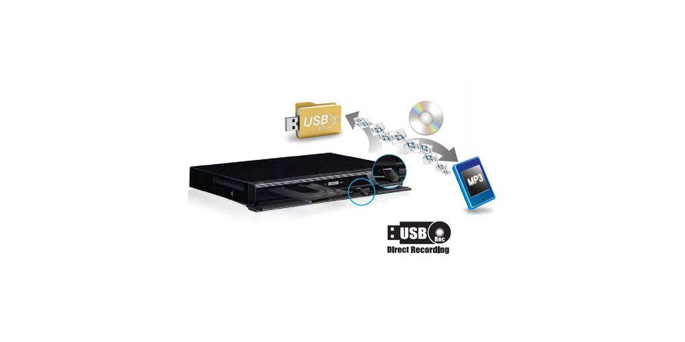 LG DP132 DVD Divx USB