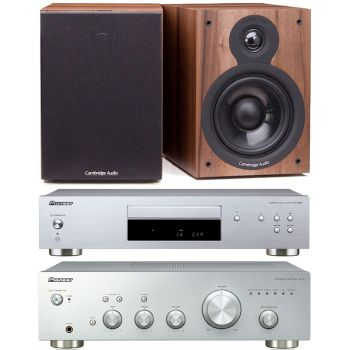 Pioneer A-10S + PD-10AE-S + Cambridge SX50 Walnut