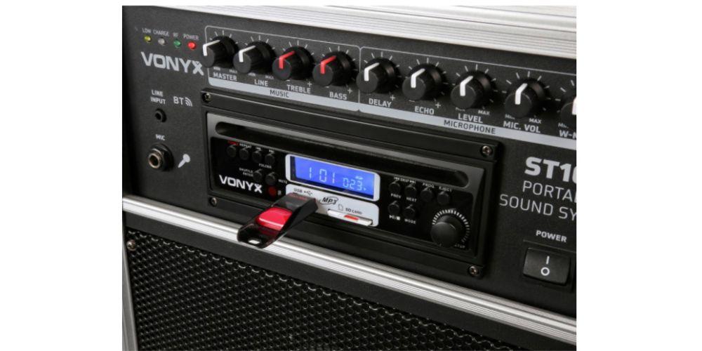 vonyx st180 altavoz portatil