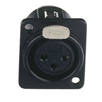 DAP Audio Conector XLR Hembra Chasis 3P RF:XFC103B