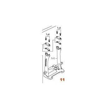 Tama HP9FR Estructura de soporte DX pedal doble zurdo Iron Cobra