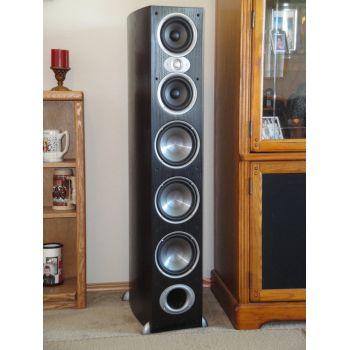 Polk audio RTIA-9 Black Pareja Altavoces