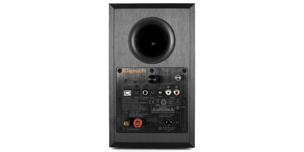 klipsch R 14PM conexiones bluetooth previo phono entradas digitales tv