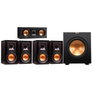 Klipsch R-15MIIHC ,Conjunto 4-R15MII, R52C, R100SW Conjunto Altavoces Home Cinema