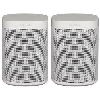 Sonos ONE White 2 unidades altavoz Wifi Control Voz blanco
