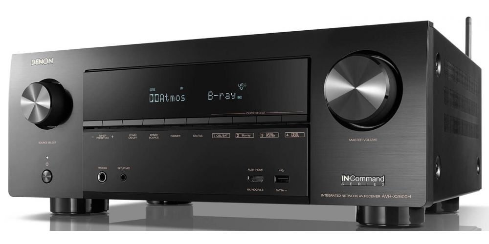 DENON AVR X2600 Receptor Audio Video Home Cinema AVRX2600