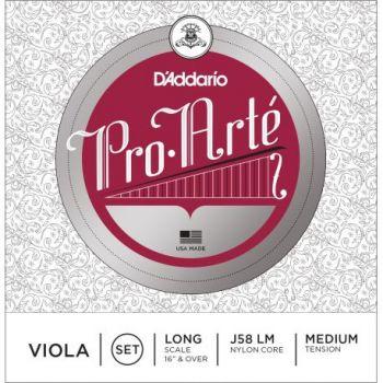 D´addario J58 Cuerda para Viola Pro Arte escala larga, tensión media