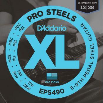 D´addario EPS-490 Juego de cuerdas guitarra eléctrica Pedal Steel