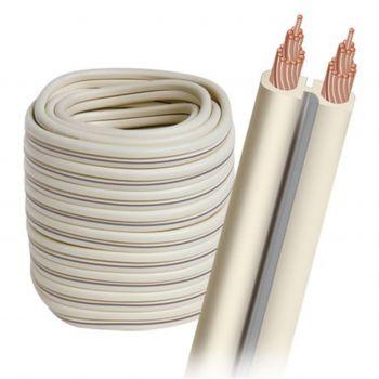 Audioquest G-2W-30FT Rollo de Cable altavoz de 9 metros y 1,31mm Color Blanco
