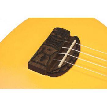 Kohala KT-CYE Ukelele Concierto SerieTiki de Color Amarillo