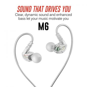Mee Audio M6 G2 Sport Clear Auriculares In Ear Sport