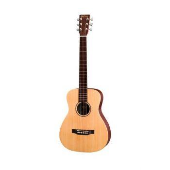 Martin LX1E-L Guitarra Electroacústica Mini para Zurdos con Funda
