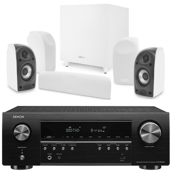DENON AVR-S650H+Polk Audio TL1700 Conjunto Home Cinema