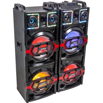 Party BOX410 Sistema de Sonorización Dj con Usb, Bluetooth, Micro Sd 850W