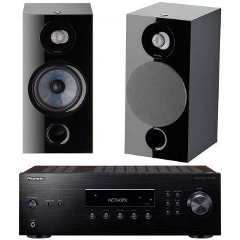 PIONEER SX-10AE-B+Focal Chora 806 BK Conjunto Audio