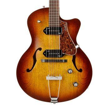GODIN 5th Avenue CW Kingpin II Cognac Burst. Guitarra Eléctrica + Funda