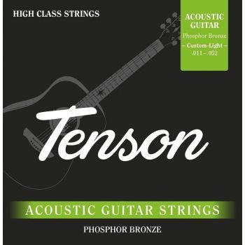 Gewa F600745 Cuerdas Guitarra Acústica Phosphor Bronze .011 - .052, Custom Light