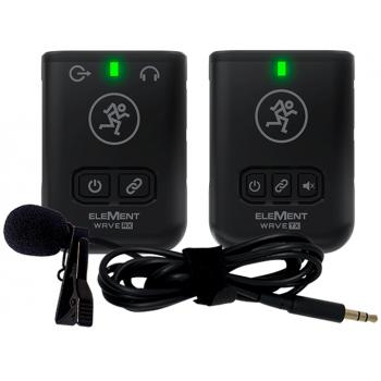Mackie Element Goes LAV Wireless Micrófono Inalámbrico Solapa Digital 2.4 GHz